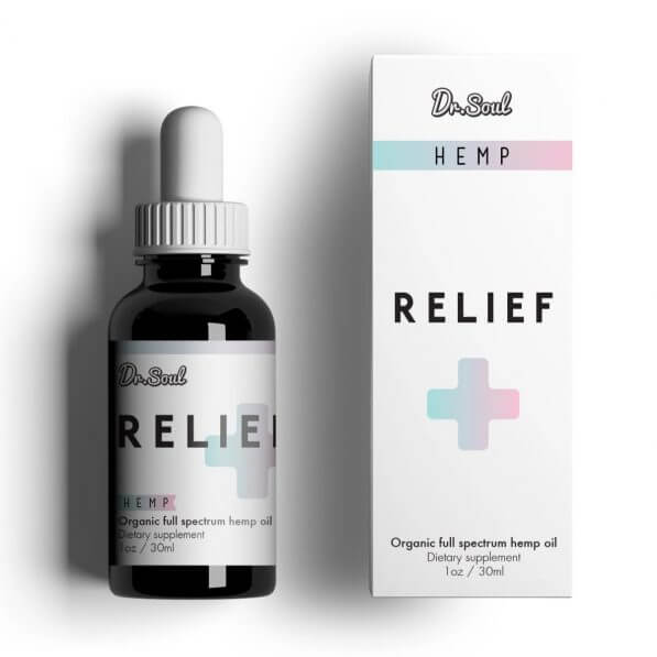 CBD-Anxiety Relief-Wellness-Relaxation-Sleep Aid-Tincture-Dr. Soul