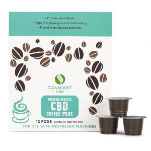 Canniant CBD-infused coffee pods are a great way to incorporate your daily dose of CBD in the morning without breaking your routine.