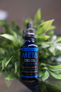 Meta CBD Products - Peppermint Flavored with Ashwagandha 500mg